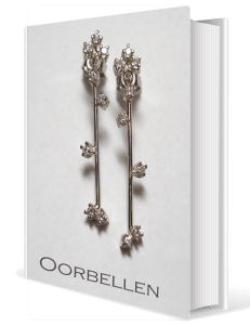 boek-oorbellen